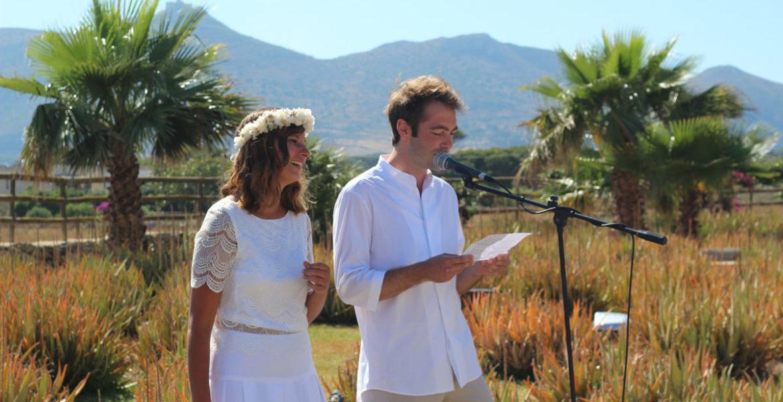 Свадьба на Фавиньяне влюбленных из Бельгии